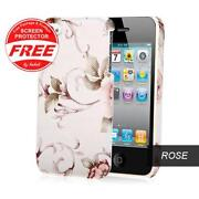 iPhone 4 Hard Case Floral