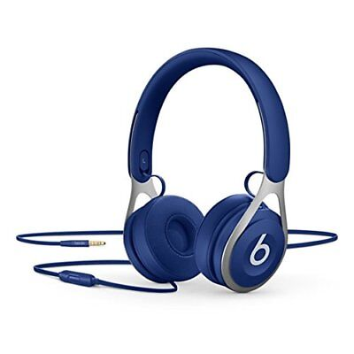 Apple Beats EP Blue Wired On Ear Headphones ML9D2LL/A