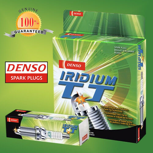 DENSO IRIDIUM TWIN TIP PLUGS FORD MONDEO HA HB HC HD 2.0L 4 CYL. - ITV16TT X 4