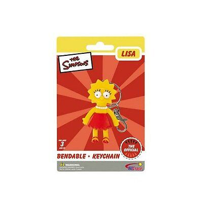 Lisa Simpson Bendy Figure Key Chain