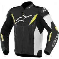 ALPINESTARS GP-R LEATHER JACKET YELLOW/JAQUETTE DE MOTO