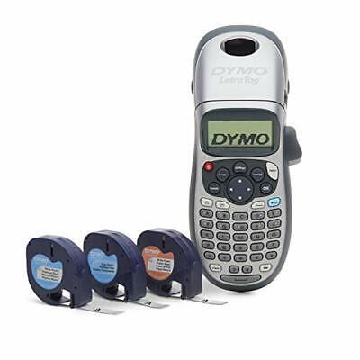 Dymo Label Maker With 3 Bonus Labeling Tapes Letratag 100h Handheld Label M...