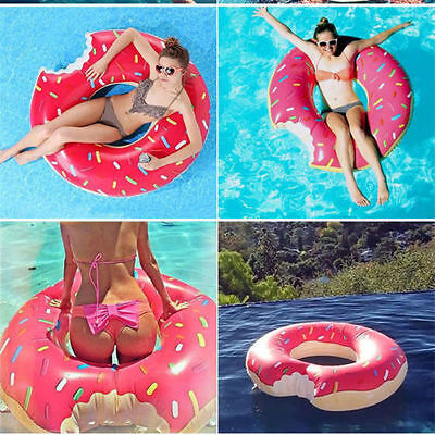 Perfect Pool Water With Float Swim Ring Fun Bite Shape Swimming On Decorating