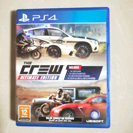 PS4 game / The Crew Ultimate Edition / mint condition like new