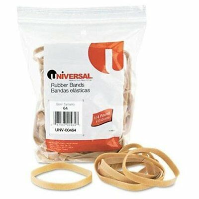 Universal Office Products 00464 Rubber Bands Size 64 3-12 X 14 80