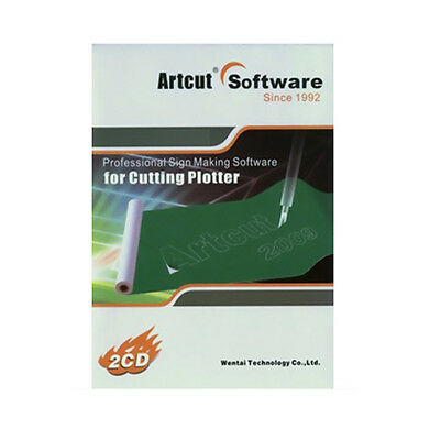 Artcut 2009 Pro Vinyl Cutting Software For Sign Vinyl Making Plotter Cutting