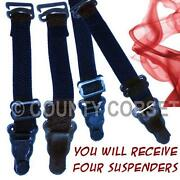 Suspender Belt Clips