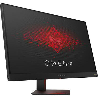HP OMEN 27 Inch Gaming Monitor QHD 165Hz 1ms NVIDIA G-SYNC - Black Aluminum
