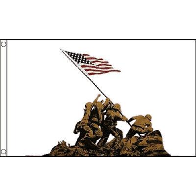 Iwo Jima Flag 5Ft X 3Ft Japan Japanese Island Banner With 2 Eyelets New