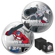Transformers Silver Coin