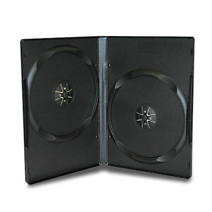 DVD CASES 14mm Cases Hold 2, 4, 6 & 10 Disc Cases. NEW