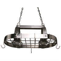 Pendant - 2-Light Pot Rack