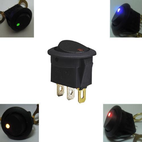 12v Lighted Toggle Switch Ebay