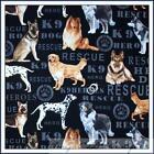 Dog Breed Fabric