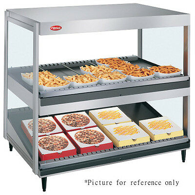 Hatco Grsdsh-30d Pass Thru Display Warmer With 1 Horizontal And 1 Slanted Shelf