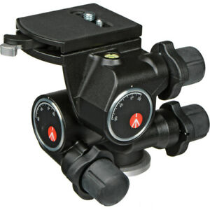 Manfrotto 410 3-Way, Geared Pan-and-Tilt Head with 410PL Quick R