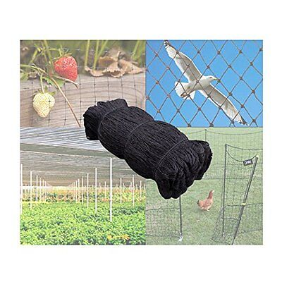 """Bird Netting 50/' X 50/' Net Netting For Bird Poultry Avaiary Game Pens 1/"""" Hole-25"""