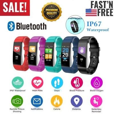 fitness smart watch activity tracker women men