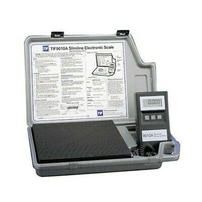 Tif 9010a Ac Slimline Electronic Refrigerant Scale - Excellent Calibrated