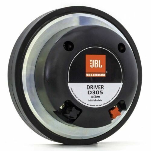 "AUTHENTIC  JBL / Selenium - D305 Phenolic Compression 2"" Bolt-On Driver 8ohm"