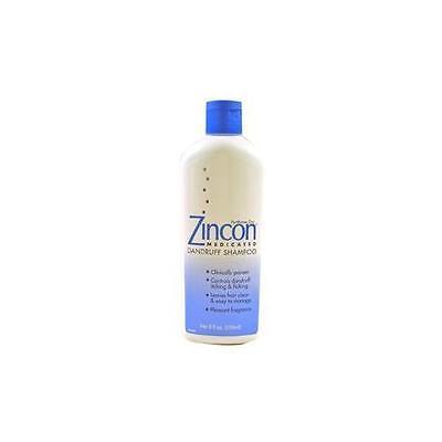 Zincon Medicated Dandruff Shampoo (2 Pack - Zincon Medicated Dandruff Shampoo- 8oz Each )