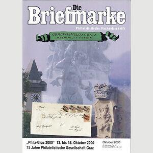 Nr.10/2000 DIE BRIEFMARKE / 125 Jahre Postamt Graz-Murvorstadt - Jennersdorf, Österreich - Nr.10/2000 DIE BRIEFMARKE / 125 Jahre Postamt Graz-Murvorstadt - Jennersdorf, Österreich