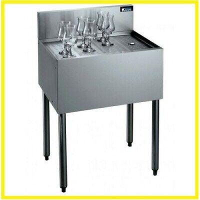 Krowne Metal Kr18-gs36 Royal 36 1800 Series Underbar Freestanding Drainboard