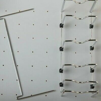 Rev-A-Shelf 5DCD-1-CR Deep Drawer Peg Board Adjustable Pot and - Chrome
