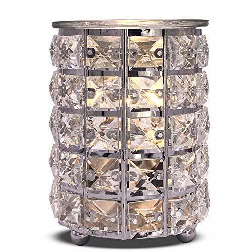 Crystal Cylinder Wax Melt Warmer Electric Wax Burner Melter Fragrance Warmer