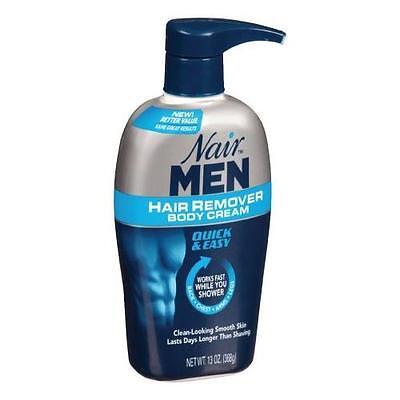 Nair Men Hair Removal Body Cream 13 oz (368 g) Each