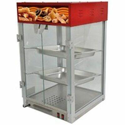 New 16 Food Warmer Display Case Countertop Hot Food Cabinet Uniworld Hdc2 9601