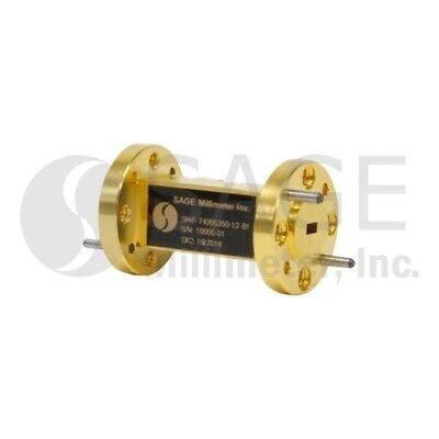 Sage Millimeter Swf-74305350-12-b1 Wr-12 Waveguide Bandpass Filter E Band