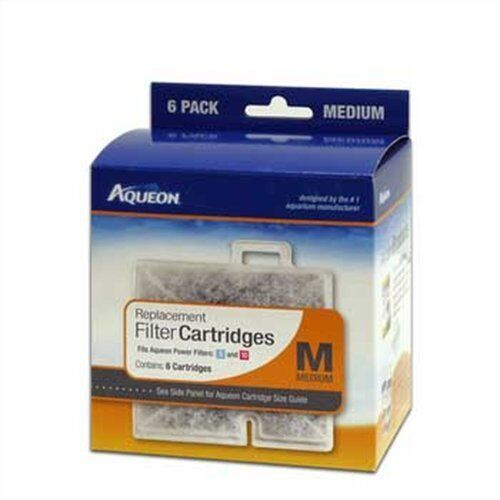 Купить Aqueon Aqueon Replacement Cartridges Medium 3 Pack - New Aqueon Replacement Cartridges Medium Md 6 Pack pk for Filter QuietFlow 10gl