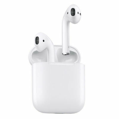 Authentic Apple AirPods In-Ear Wireless Bluetooth Headsets w/ Case MMEF2AM/A