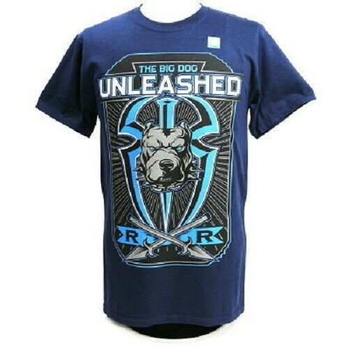 "WWE Roman Reigns ""Big Dog Unleashed"" Authentic T-Shirt"