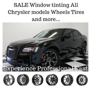 Sale Chrysler 300 200 window tinting experience OPEN LATE 7 DAYS