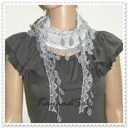 Cotton Lace Scarf