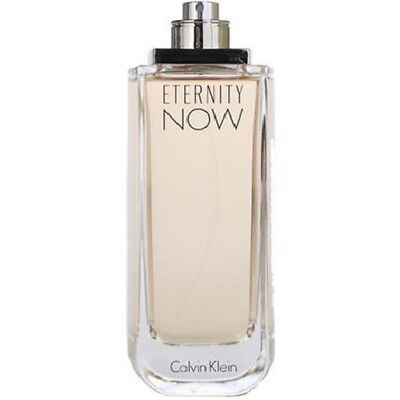 Eternity Now for Women by Calvin Klein 3.4 oz EDP Perfume for Women New Tester