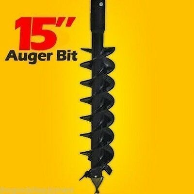 15 Skid Steer Auger Bit48longfits All 2 Hex Auger Drives Made In Usa