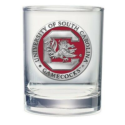 South Carolina Gamecocks Double Old Fashioned Glass -