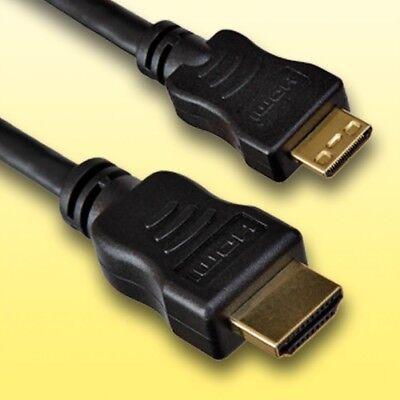 HDMI Kabel für Sony Alpha 700 Digitalkamera | Mini C | Länge 1,5m | vergoldet Digital Kamera 1,5