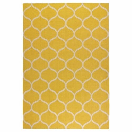 Ikea Stockholm yellow rug - very good condition
