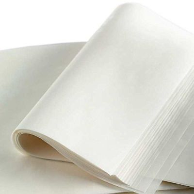 "24"" x 16"" Rosin Press Silicone Coated White Parchment Paper 100 sheets"