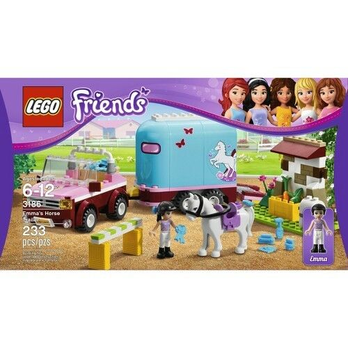 Lego® Friends Emma's Horse Trailer 3186 5702014733176