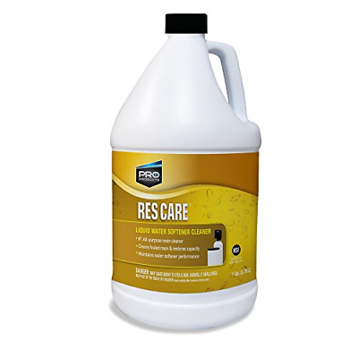 Res Care Liquid Resin Cleaning Solution Water Softener Clean