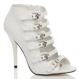 8da27a0a867 Heeled Gladiator Sandals Size 5