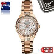 Ladies Guess Rose Gold Watch
