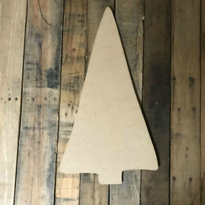 Straight Tree, Unfinished Wood Shape, Christmas Cutout, Wooden Paintable Craft](Tree Cutouts)