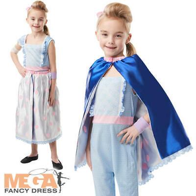 Shepherds Outfit (Deluxe Bo Peep Girls Fancy Dress Disney Toy Story 4 Shepherd Kids Costume)