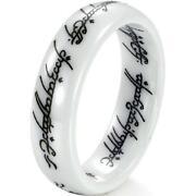 White Ceramic Ring